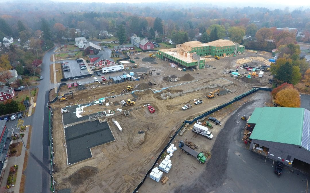 Baker breaks ground on Amherst's $47.5M mixed-use project