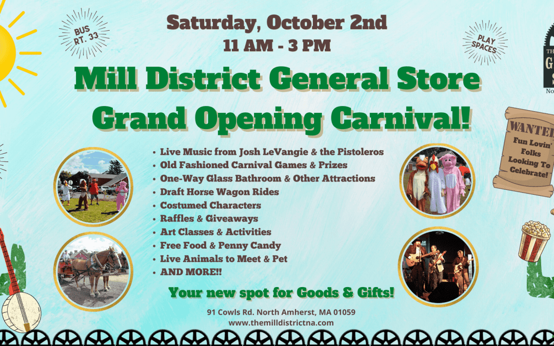 General Store Grand Opening Celebration!