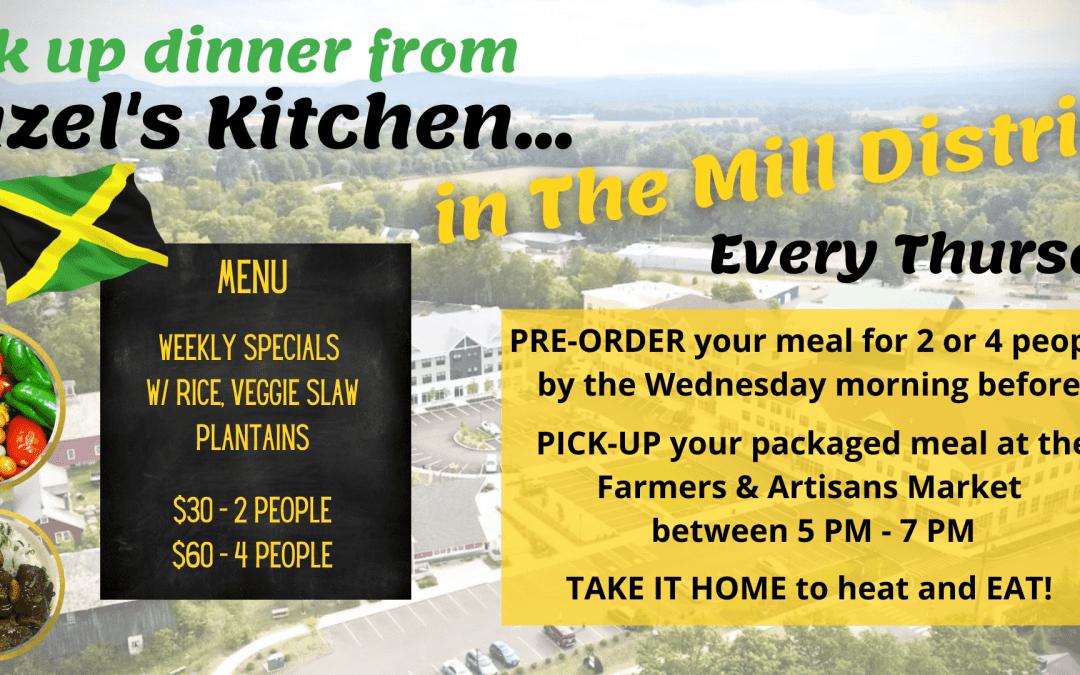 Order Hazel's Kitchen To-Go Every Week!